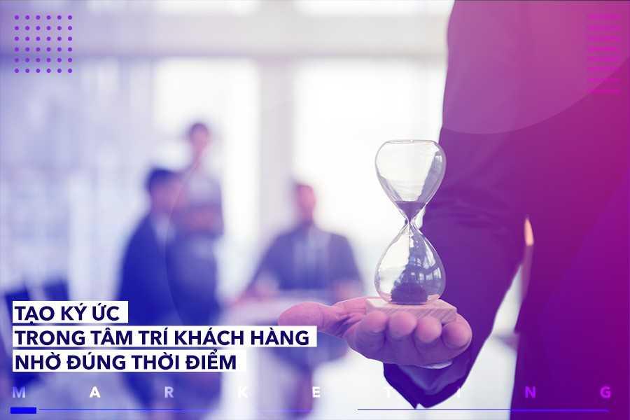 Marketing thời điểm là kế hoạch marketing được phát triển dựa trên yếu tố thời gian.