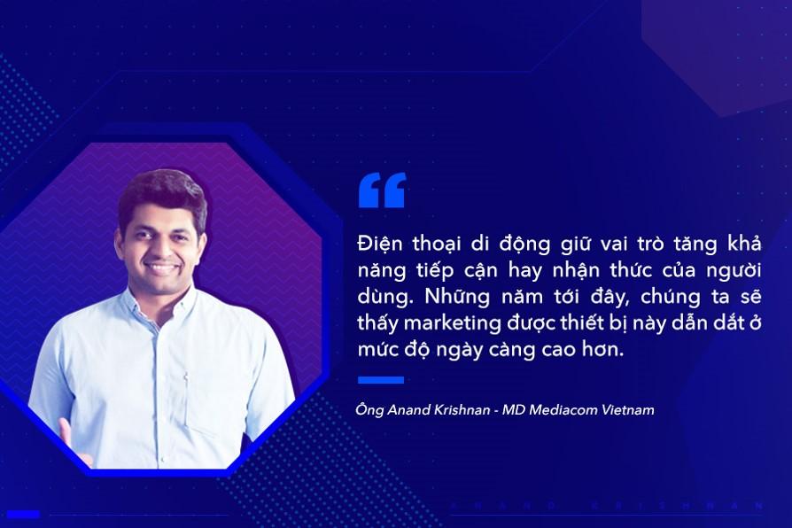 Ông Anand Krishnan - MD Mediacom Việt Nam