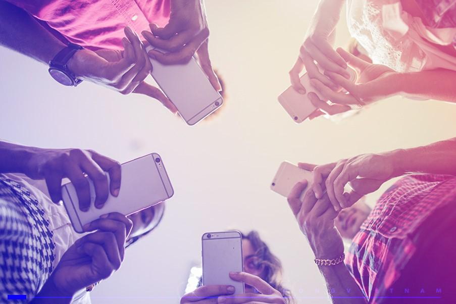 Tỷ lệ người dùng internet trên điện thoại tại Việt Nam cao hơn so với trung bình toàn cầu