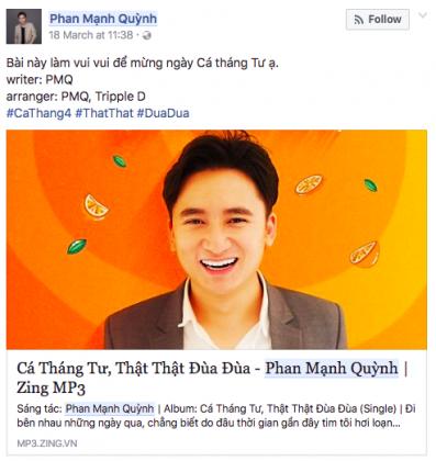 Video ca nhạc của Phan Mạnh Quỳnh nhận được quan tâm mạnh mẽ.