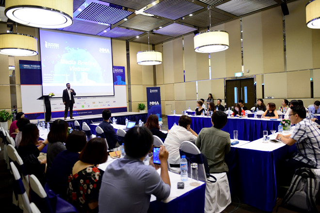 Các xu hướng, số liệu về mobile marketing được cập nhật tại Hội nghị bàn tròn MMA 2017.
