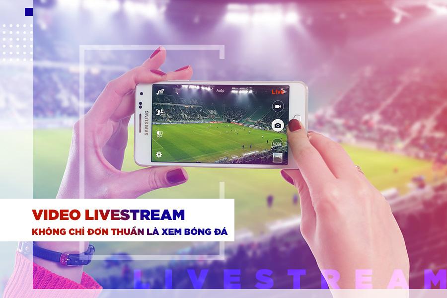 Video livestream sợi dây vô hình gắn kết người hâm mộ