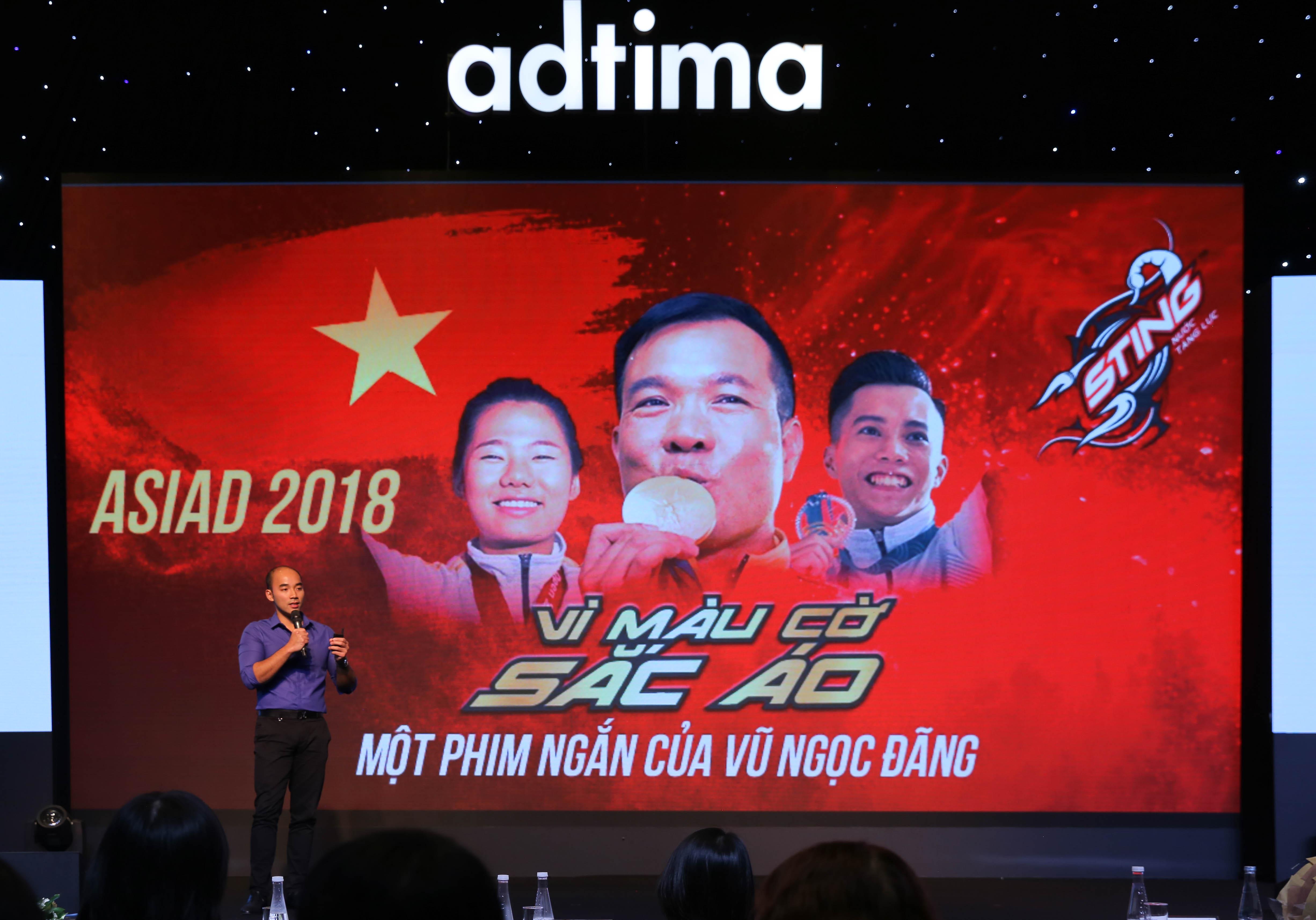Anh Minh Nguyễn chia sẻ về hợp tác thành công của Sting và Zing.vn trong sự kiện Asiad 2018